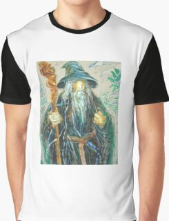 Gandalf: Sergei Lefert's drawing Graphic T-Shirt
