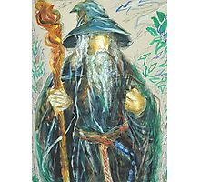 Gandalf: Sergei Lefert's drawing Photographic Print