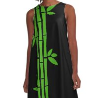 Night Bamboos A-Line Dress