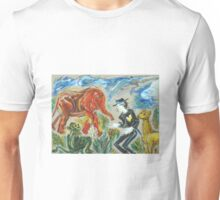 Michael Jackson's Zoo: Sergei Lefert's drawing Unisex T-Shirt