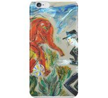 Michael Jackson's Zoo: Sergei Lefert's drawing iPhone Case/Skin