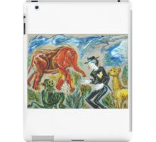 Michael Jackson's Zoo: Sergei Lefert's drawing iPad Case/Skin