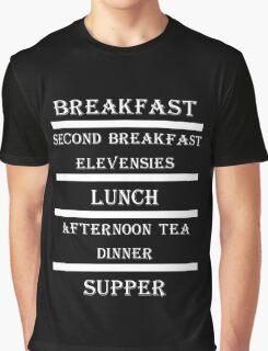 Hobbit Meals Graphic T-Shirt