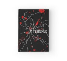 The Walking Dead - Terminus Map Hardcover Journal