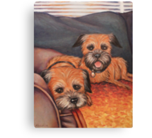 Pups Canvas Print