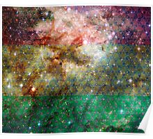 Rasta Tarantula Nebula Poster