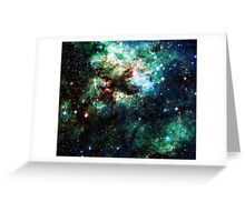 Tarantula Nebula [Weird Green] Greeting Card