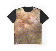 Tarantula Nebula Metatron's Cube Pattern Overlay [Pikachu Version] Graphic T-Shirt