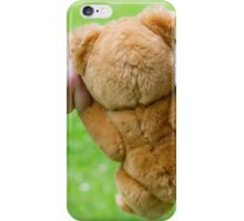 Teddy going for a walk  iPhone Case/Skin