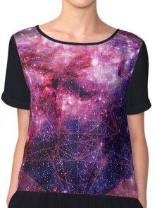 Tarantula Nebula Double Metatron's Cube [Mew] Chiffon Top