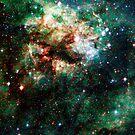Tarantula Nebula Double Metatron's Cube [Christmas Tree] by SirDouglasFresh