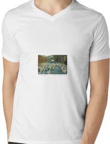 South Island Traffic Jam Mens V-Neck T-Shirt