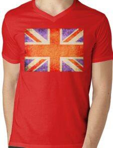 UNION JACK - ANTIQUE Mens V-Neck T-Shirt