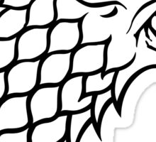 House Stark Banner Sticker