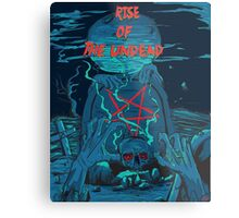 Rise of the undead  Metal Print