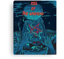 Rise of the undead  Canvas Print