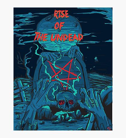 Rise of the undead  Photographic Print