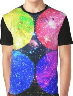 Four Bright Suns Graphic T-Shirt