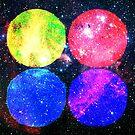 Four Bright Suns by SirDouglasFresh