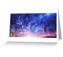 Ethereal Crossroads Greeting Card