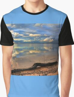 Pretty Sky Messy Shoreline Graphic T-Shirt