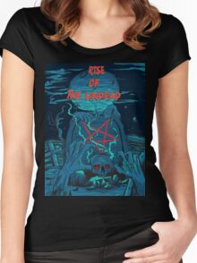 Rise of the undead  Women's Fitted Scoop T-Shirt