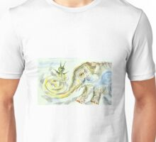 Elephant-Snail: Sergei Lefert's drawing Unisex T-Shirt