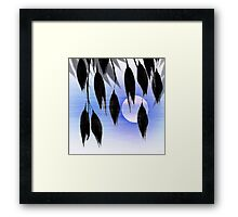 Beneath Shade, Moonglow Framed Print