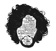 Jon Snow Photographic Print