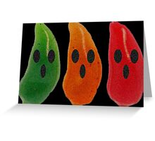 Ghost Peppers Greeting Card