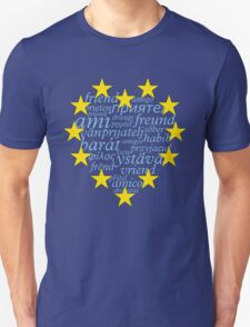 Friends with Europe Unisex T-Shirt