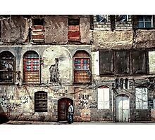Homes in Damascus  Photographic Print