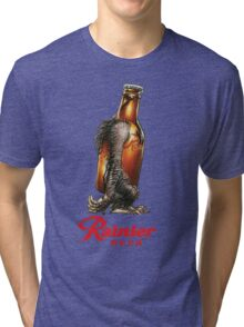 RAINER BEER LAGER Tri-blend T-Shirt