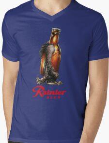 RAINER BEER LAGER Mens V-Neck T-Shirt