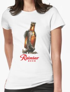 RAINER BEER LAGER Womens Fitted T-Shirt