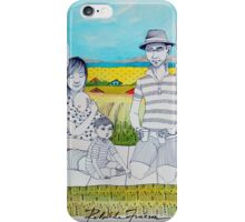 Family Picnic iPhone Case/Skin
