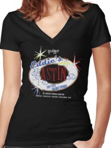 Astin Women's Fitted V-Neck T-Shirt