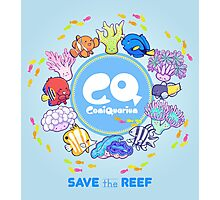 ComiQuarium Marine Life ver. Safe the Reef Photographic Print