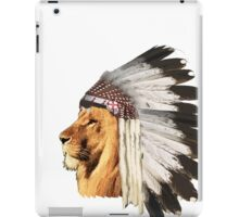 Lion Chief iPad Case/Skin