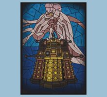 Dalek Stained Glass One Piece - Short Sleeve