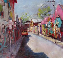 'Newtown Graffiti' by Julie Simmons
