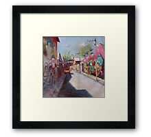 'Newtown Graffiti' Framed Print