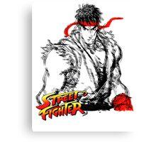 Streetfighter - Ryu Canvas Print