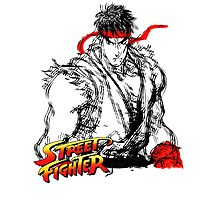 Streetfighter - Ryu Photographic Print