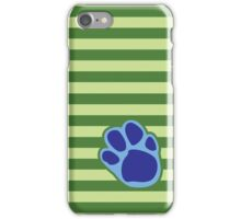 Steve Stripes w/ Paw Print Design iPhone Case/Skin