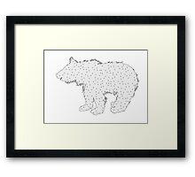 Bear cub Framed Print