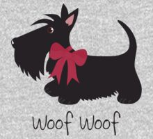 Woof Woof Scottie Dog by BonniePortraits