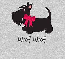 Woof Woof Scottie Dog Unisex T-Shirt