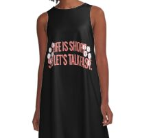 Gilmore Girls-Talk Fast A-Line Dress