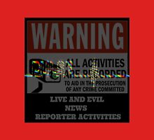 CRISIS ACTORS WARNING Unisex T-Shirt